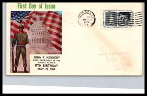 #1246 John F. Kennedy - UO Thibodaux, LA - TEIXEIRA CACHET