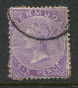 Bermuda 1903 6d violet used