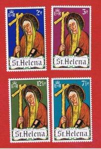 St. Helena  #257-260 MNH OG  Easter  Free S/H