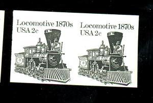 1897Ac MINT Imperf Pair F-VF NH Cat $45