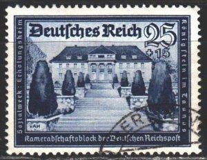Third Reich. 1939. 713 from series. Sanatorium Konigstein. USED.