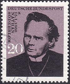 Germany # 959 used ~ 20pf Nathan Söderblom, Theologian