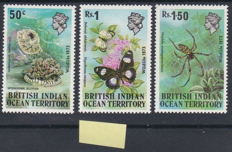 British Indian Ocean Territory 1973 Wildlife (1st series) MNH CV £11.75