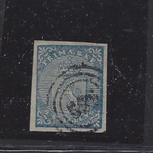 Norway, 1, 1855 Coat of Arms Single (See Desc.),**Used**#1