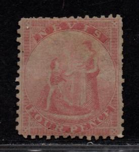$Nevis Sc#6 M/H/F-VF, Cv. $175