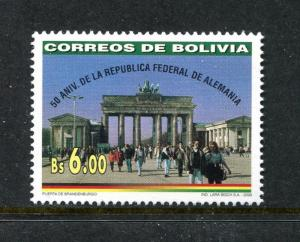Bolivia 1097, MNH.2000, 50 Years bundesrepublic 1v. x27673