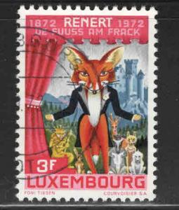 Luxembourg Scott 516 Used stamp