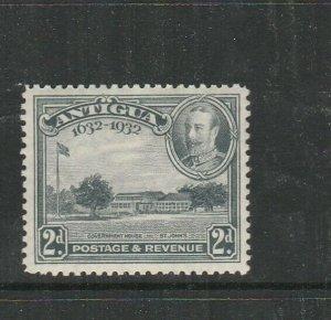Antigua 1932 Tercentenary 2d MM SG 84