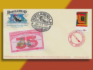 Bufflehead Local Post Celebrates 35 Years of the Local Post Collectors Society