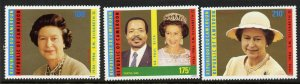 Cameroun 815-7 MNH Queen Elizabeth 60th Birthday