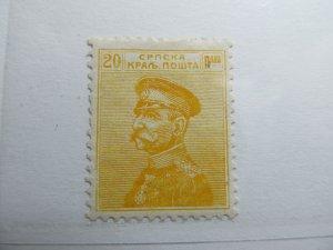 Serbien Serbia 1911 20p Fine MH* A5P18F382