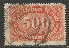 GERMANY 203 VFU I481-3