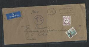 LESOTHO  (PP1405B)  1970 INCOMING COVER FROM RHODESIA POSTAGE DUE 2C