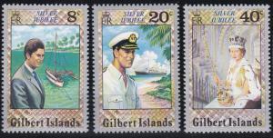 Gilbert Islands 293-295 MNH (1977)