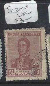 ARGENTINA (P1204B)  24 C  SC 240  VFU