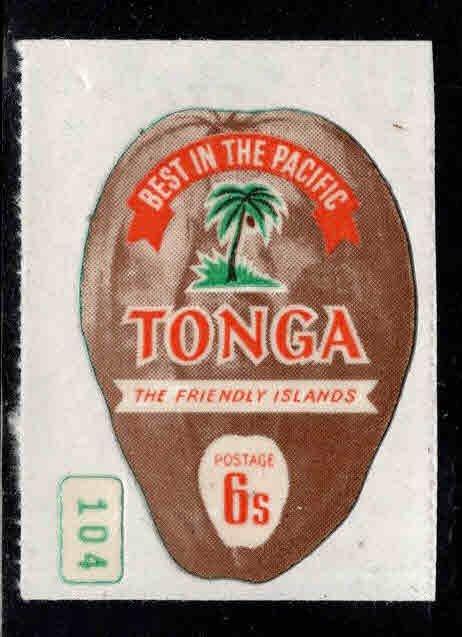 TONGA  Scott 302 Coconut stamp MH*