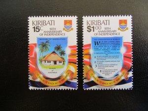Kiribati #515-16 Mint Never Hinged (M7N4) - Stamp Lives Matter!