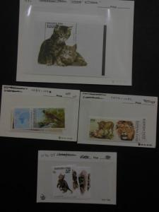 EDW1949SELL : BURKINA FASO Beautiful collection. All VF MNH Topicals Sc Cat $124