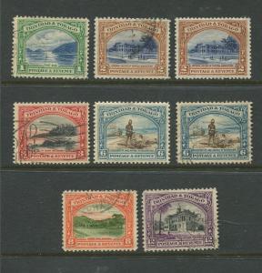 STAMP STATION PERTH:Trinidad & Tobago - #34-39 Definitive 1935 M/U CV$20.00.