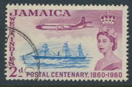 Jamaica SG 178  Used SC# 178 Aircraft  Stamp Centenary see details