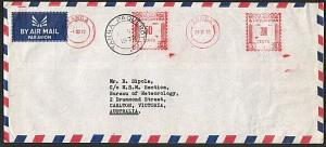 KENYA UGANDA TANGANYIKA 1972 cover to Australia TANGA PAQUEBOT cds.........18327