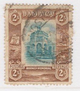 British Colony Jamaica 1922 2s Wmk Mult Script CA Used Stamp A22P19F8953