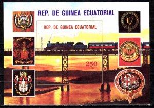 Equatorial Guinea, SW1584, MNH, 1978, Locomotive/Train, (LL02334)