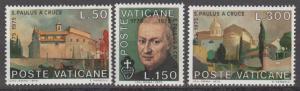 Vatican City #585-7 MNH VF (ST1685)