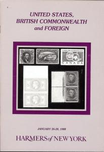 Harmers: Sale # 2797-2798  -  United States, British Comm...
