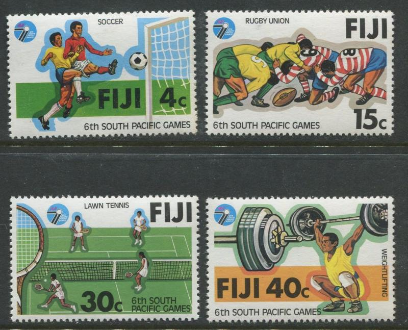 Fiji - Scott 405-408 - General Issue 1979- MNH - Set of 4 Stamps