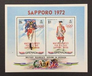 Grenada 1971 #433a S/S, Grenada Uniforms, MNH, See Note