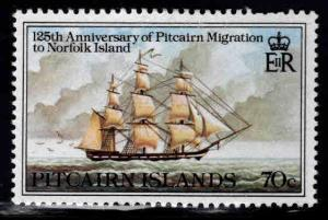 Pitcairn Islands Scott 205 MH* tall ship stamp