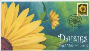 CA17-016, 2017, FDC, Daisies, Yellow, Day of Issue, FDC, Pictorial Postmark