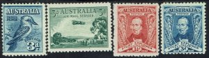 AUSTRALIA 1928 - 30 COMMEMORATIVES RANGE