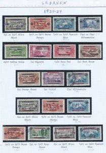 LEBANON USED  SCV $42.55 1927-29 STARTS @25% OF CAT VALUE