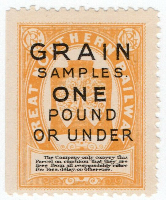 (I.B) Great Northern Railway : Grain Samples (under 1lb)