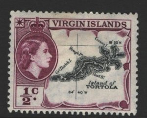 British Virgin Islands Sc#115 MH