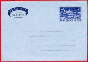 aa2302  -  LESOTHO   - Postal HISTORY - STATIONERY Aerogramme
