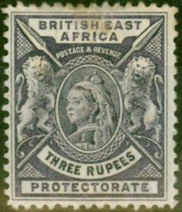 B.E.A KUT 1896 3R Deep Violet SG77 Good Mtd Mint