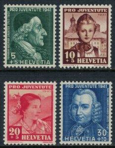 Switzerland #B112-5* NH  CV $3.50