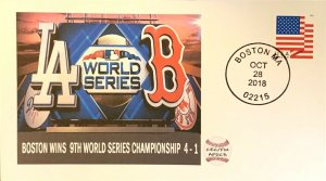 AFDCS Boston Wins 9th World Series Defeat Los Angles Dodgers October 28 2018