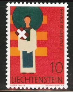 LIECHTENSTEIN Scott 431  MNH** from the 1967-71 Patron Saint set