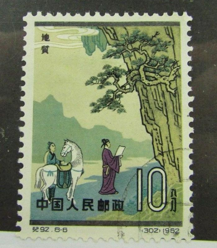 1962 PRC SC #644  ANCIENT CHINESE SCIENTISTS  used stamp