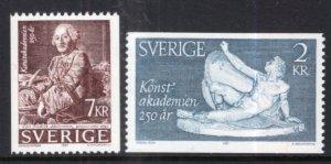 Sweden 1551-1552 MNH VF