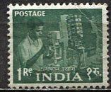 India: 1959; Sc. # 316, **/MNH Wmk 324 Single Stamp