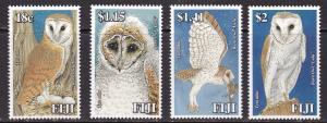Fiji, Fauna, Birds, Owls MNH / 2006