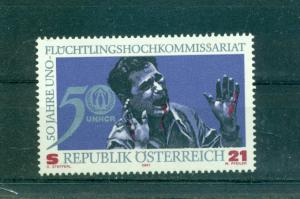 Austria - Sc# 1847. 2001 U.N. Refugee Commissioner. MNH $4.25.