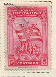 Costa Rica 1941-44 Early Issue Fine Used 5c. 168187