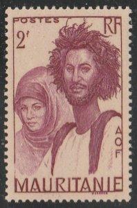 Mauritania #102 Mint Hinged Single Stamp