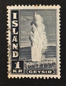 Iceland Sc. #208Bd, used